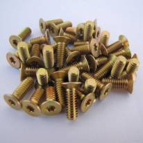 Torx Yellow Cadmium Screws